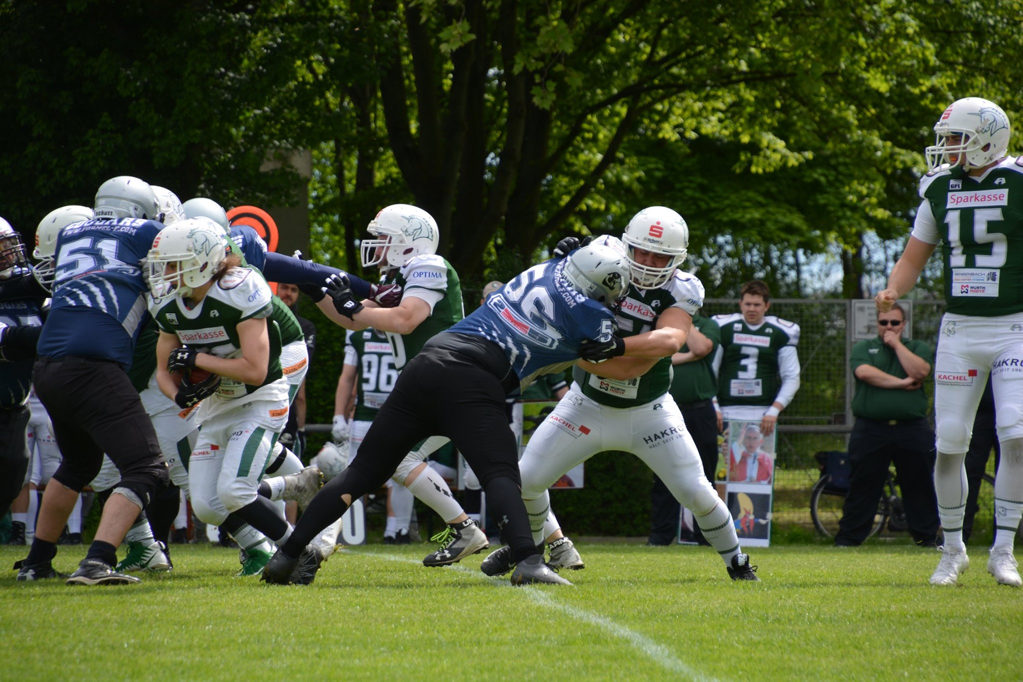 SV Kornwestheim Cougars vs Schwaebisch Hall Unicorns 2 110519 01