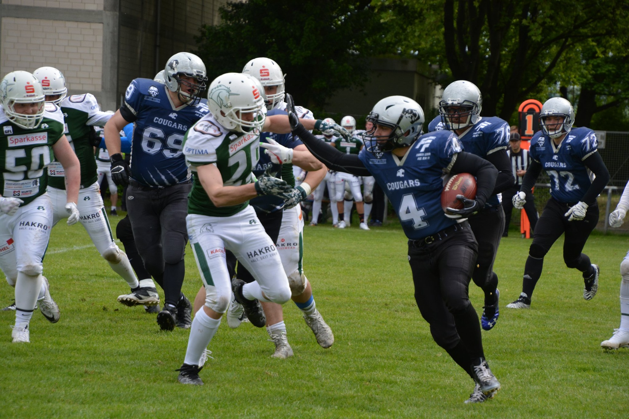 SV Kornwestheim Cougars vs Schwaebisch Hall Unicorns 2 110519 02