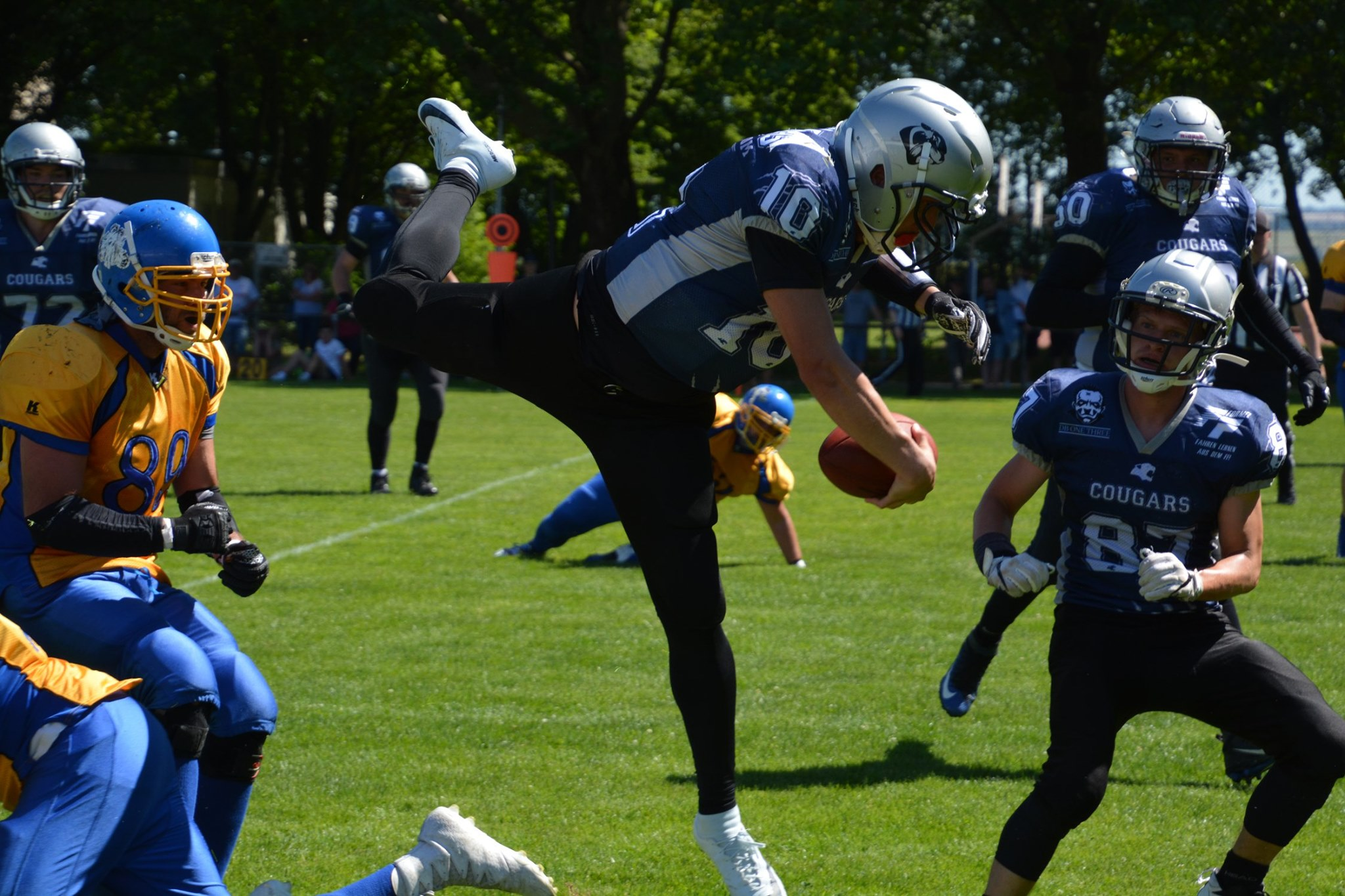 SV Kornwestheim Cougars vs Backnang Wolverines 290619 02