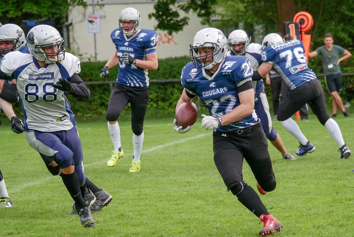 sv kornwestheim football cougars seniors news fellbach warriors