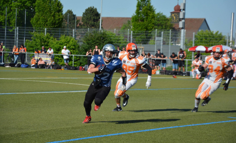 Kornwestheim Cougars at Fellbach Warriors 2018